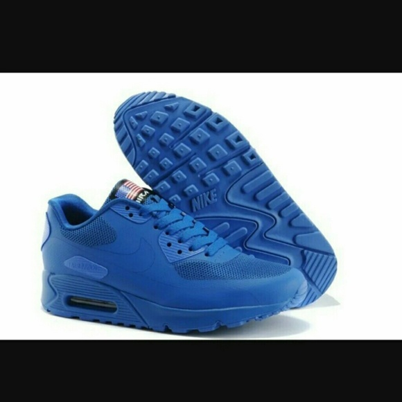 online store 0cee2 a0191  SALE  NWT NIKE AIR MAX 90 HYPERFUSE BLUE 7M